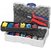 Coffret de sertissage + pince Knipex