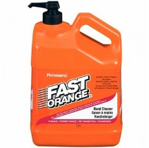 Bidon 3.8L savon Fast-Orange + pompe