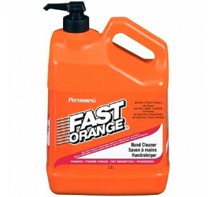 Bidon 3,8L Savon Fast-Orange + Pompe